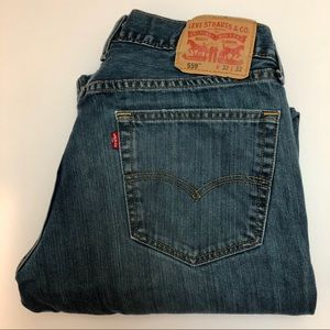 Levi's 559 Relaxed Vintage Wash Jeans 32x32